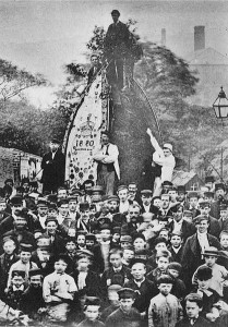 The Uppermill Rush-Cart 1880