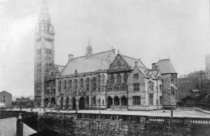 Rochdale Town Hall before the fire