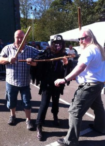 Iain does Border Morris at Whitworth Rushbearing
