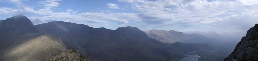 View from Y Lliwedd